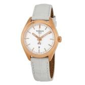 【55專享】Tissot 天梭 PR 100 系列 玫瑰金白色女士氣質腕表 T101.210.36.031.01