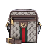 GUCCI Ophidia GG 老花斜背包
