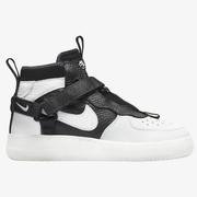 【最低額外7.5折】Nike 耐克 Air Force 1 Utility 大童款板鞋 奧利奧解構