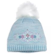 Disney 迪士尼 冰雪奇緣 艾莎兒童藍色毛線帽