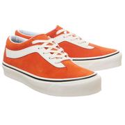 Vans 萬斯 Bold 橘色低幫運動鞋
