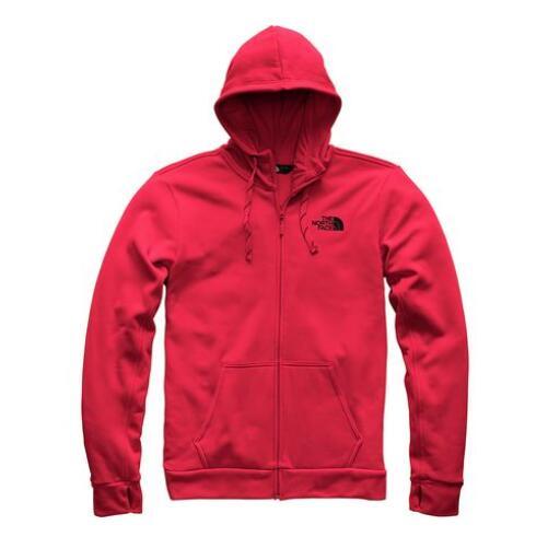 The North Face 北面 Surgent LFC 男款連帽拉鏈衫 紅色