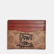 Coach Card Case 經典圖案卡包