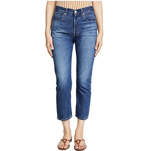 Levi's 501 七分牛仔褲