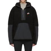 Nike 黑色毛絨衛衣
