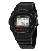 【55專享】Casio 卡西歐 G-Shock 系列 黑色男士運動腕表 DW-5750E-1DR