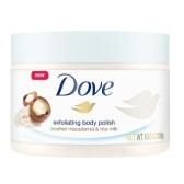Dove 多芬 冰淇淋身體磨砂膏 夏威夷果&米漿味 298g