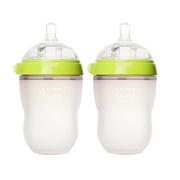 Comotomo 可么多么 綠色嬰兒硅膠奶瓶 250ml 2只裝