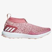 adidas 阿迪達斯 RapidaRun Laceless 大童款跑鞋 US6碼