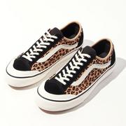 上新!Vans 萬斯 Style 36 Decon SF 豹紋低幫鞋