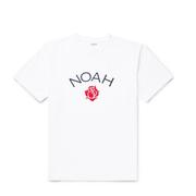 Noah NYC 白色 logo 短袖