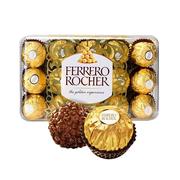 【20日0點】Ferrero 費列羅 意大利進口榛果金莎巧克力 30粒 375g
