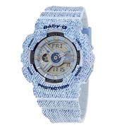 【55專享】上新!Casio 卡西歐 Baby-G 系列 藍色女士運動腕表 BA-110DC-2A3DR