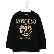 MOSCHINO KIDS logo印花童款衛衣