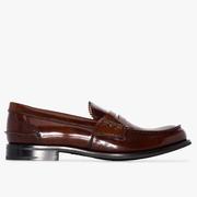 37碼有貨~Church's Pembrey 女款棕色樂福鞋