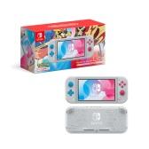"""【中亞Prime會員】Nintendo 任天堂 Switch Lite 便攜式游戲機 NS掌機 精靈寶可夢劍盾限定版 <b style=""""color:#ff7e00"""">到手價1537元</b>"""