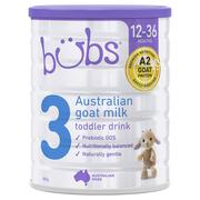【55專享】Bubs 貝兒 嬰幼兒羊奶粉 3段 800g