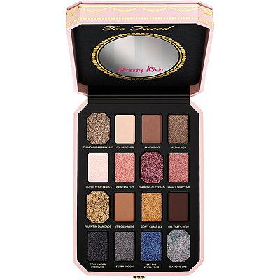 Too Faced 限定 Pretty Rich 钻石眼影