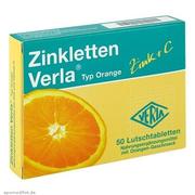 【湊單品】Zinkletten Verla 兒童/孕婦補鋅+維生素C 咀嚼片 橙子味 50粒