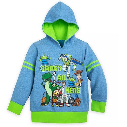 Disney 迪士尼 玩具總動員4 男孩藍綠色連帽衫