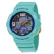 【55專享】好價!Casio 卡西歐 Baby-G 系列 藍色女士運動腕表 BGA-190-3BDR