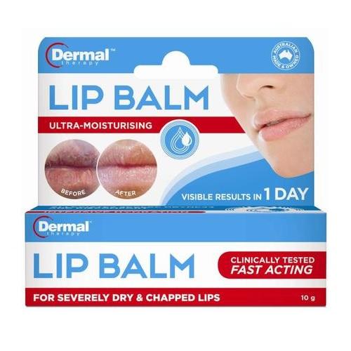【3件10澳】新人0澳免郵!Dermal Therapy 修復死皮及干裂潤唇膏 10g