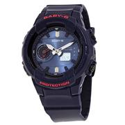 【55專享】好價!Casio 卡西歐 Baby-G 系列 深藍色女士運動腕表 BGA-230S-2ADR