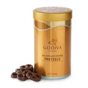 Godiva 歌帝梵 牛奶巧克力椒鹽脆餅罐 454g