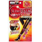 【日亞自營】SLIM WALK 瘦腿發熱襪 美腿壓力襪 L-LL