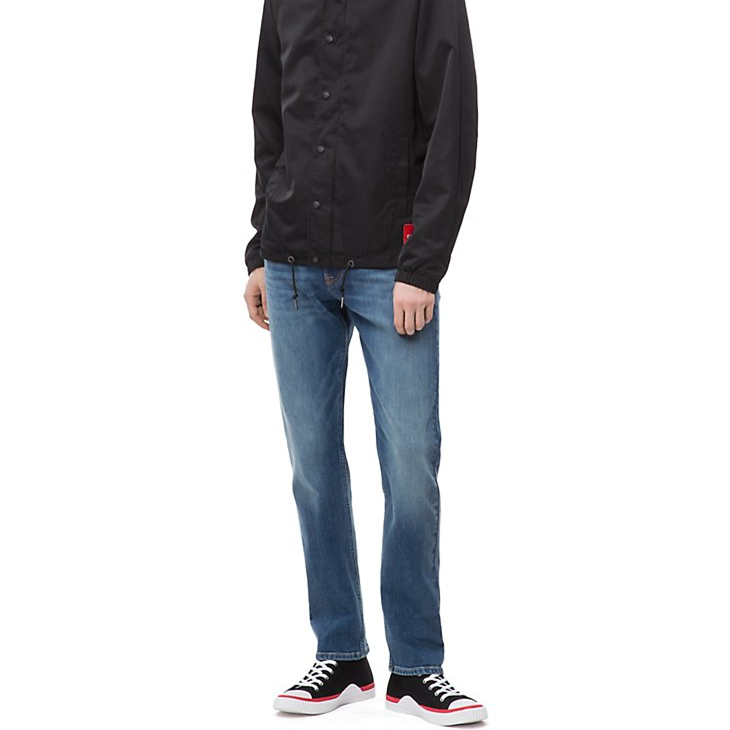 【滿$125-$25】Calvin Klein 男士休閑直筒牛仔褲
