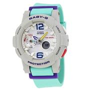 【55專享】好價!Casio 卡西歐 Baby-G 系列 拼色女士運動腕表 BGA-180-3BDR