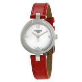 【55專享】Tissot 天梭 T-Trend Pinky 系列 珍珠母貝女士優雅腕表 T084.210.16.116.00
