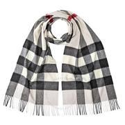 【55專享】Burberry 博柏利 格紋羊絨圍巾