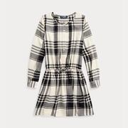 【2019黑五】Ralph Lauren 拉夫勞倫 Plaid Cotton Poplin Shirtdress 7-16歲格紋連衣裙