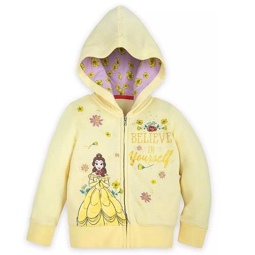 Disney 迪士尼 貝兒女孩連帽外套