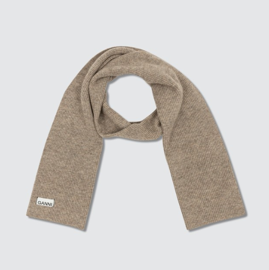 GANNI 針織圍巾