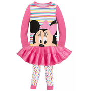 Disney 迪士尼 米妮女孩睡衣套裝