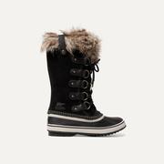 SOREL Joan of Arctic 人造皮草邊飾防水絨面革橡膠靴