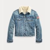 Ralph Lauren 拉夫勞倫 Fleece-Lined Trucker Jacket 8-20歲牛仔外套