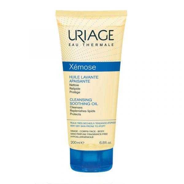 Uriage 依泉 Xémose 凈膚舒緩潔面油 200ml