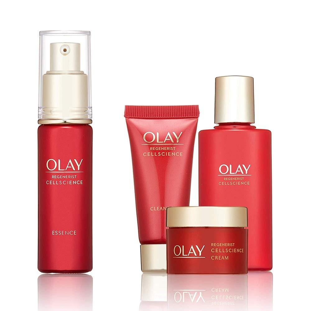 【中亞Prime會員】Olay 玉蘭油 Regenerist 新生塑顏臻粹4件套護膚套裝