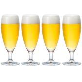 【中亞Prime會員】ADERIA 津輕玻璃 S-5632 啤酒杯 280ml*4個