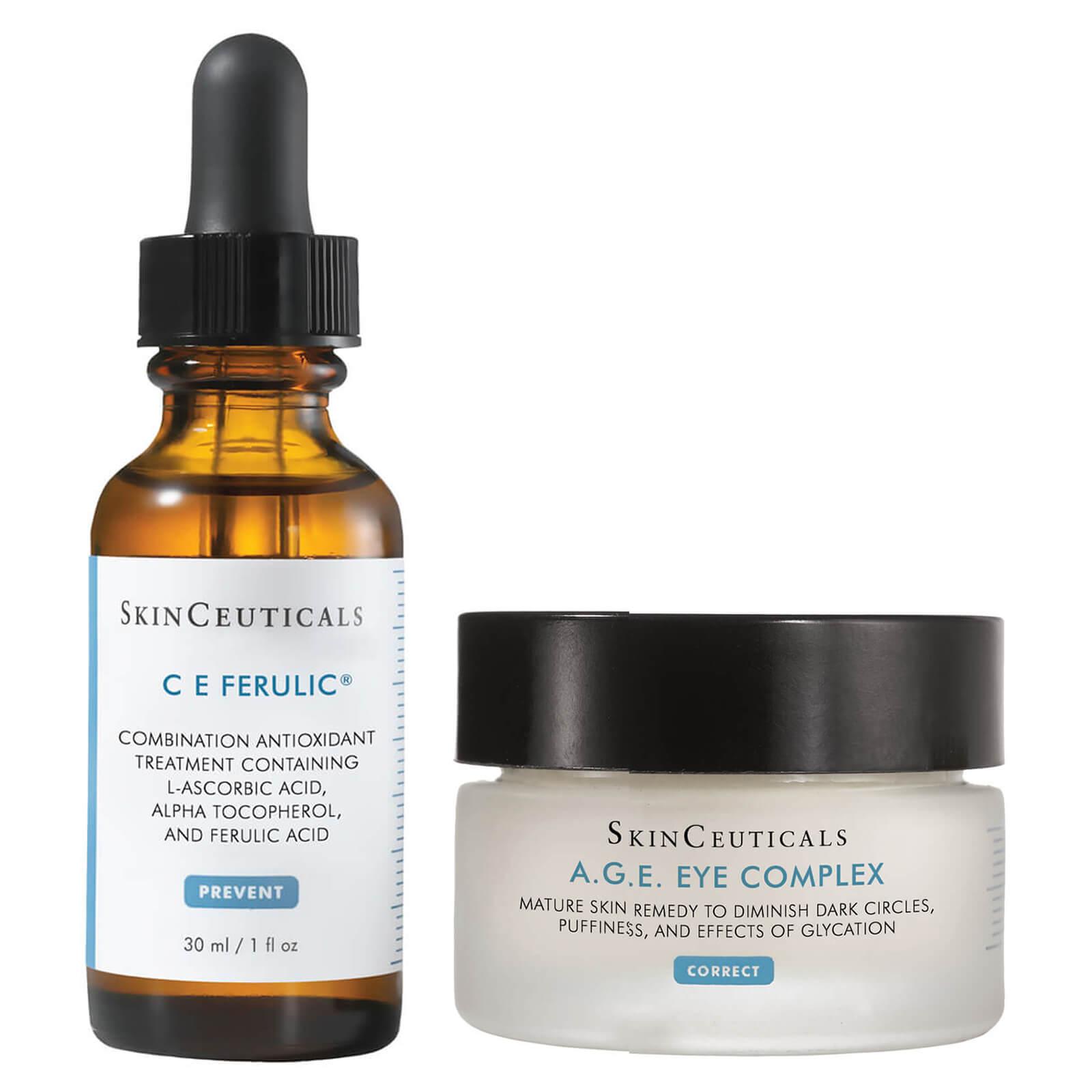 SkinCeuticals 杜克 CE 抗氧化精華+緊致眼霜套組