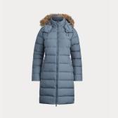 Ralph Lauren 拉夫勞倫 Faux-Fur-Trim Down Coat 長款羽絨外套