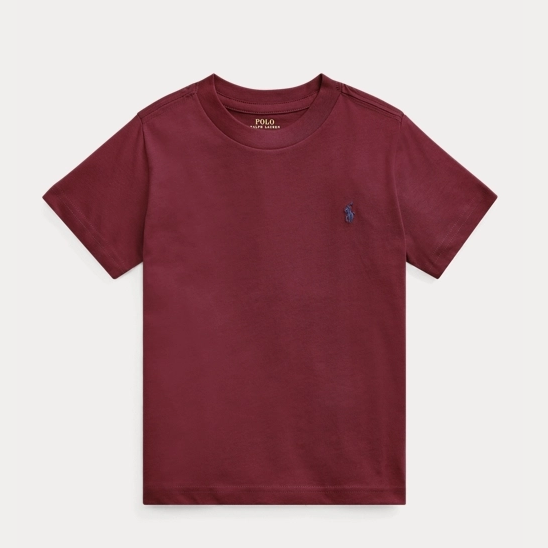 Ralph Lauren 拉夫勞倫 Cotton Jersey Crewneck 2-7歲T恤