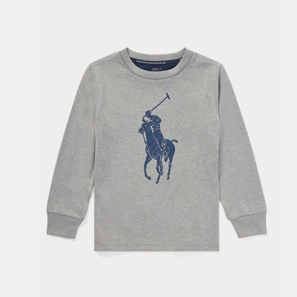 Ralph Lauren 拉夫勞倫 Big Pony Performance 2-7歲長袖T恤