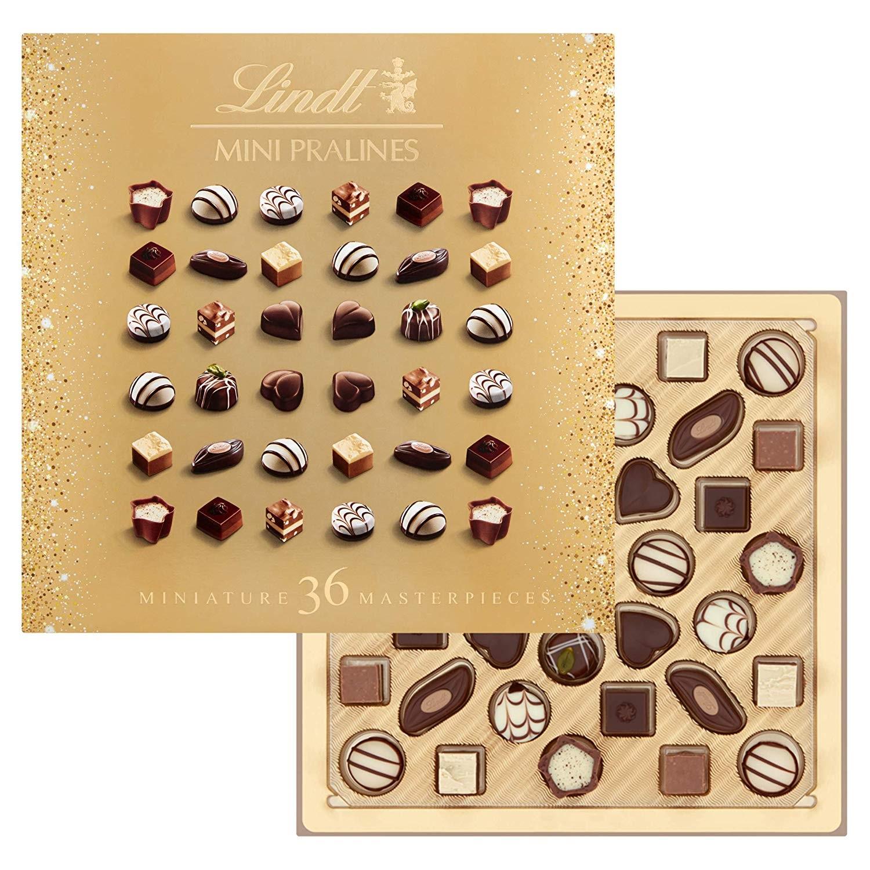【中亞Prime會員】Lindt 瑞士蓮 圣誕迷你巧克力禮盒 36顆*4盒