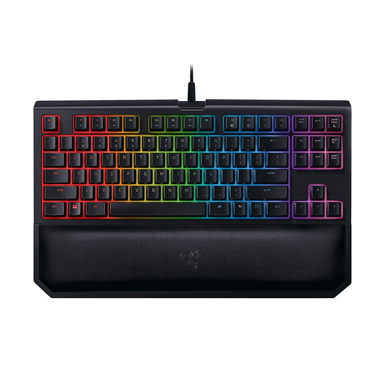 低價!【中亞Prime會員】Razer 雷蛇 黑寡婦蜘蛛 競技幻彩版V2 RGB機械鍵盤