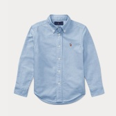 Ralph Lauren 拉夫勞倫 Cotton Oxford Shirt 2-7歲牛津襯衫