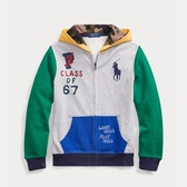 Ralph Lauren 拉夫勞倫 Color-Blocked Cotton 8-20歲拉鏈外套
